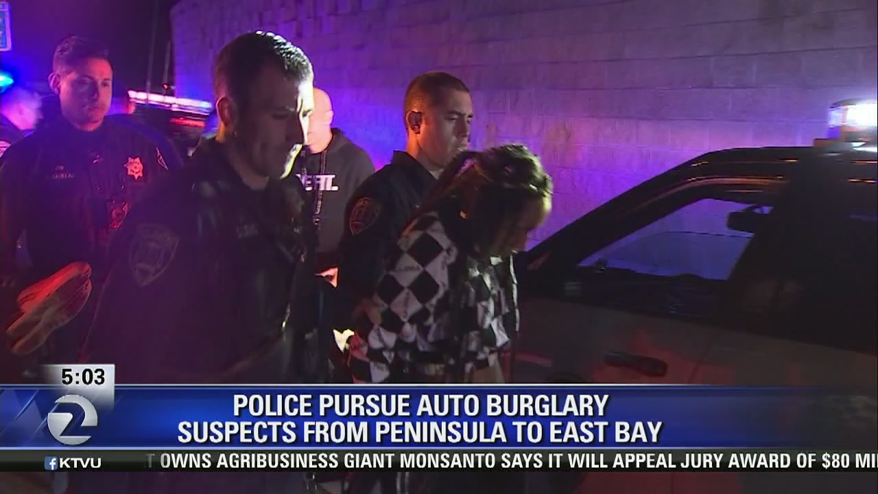 3 burglary suspects arrested after chase across san mateo bridge 3 burglary suspects arrested after