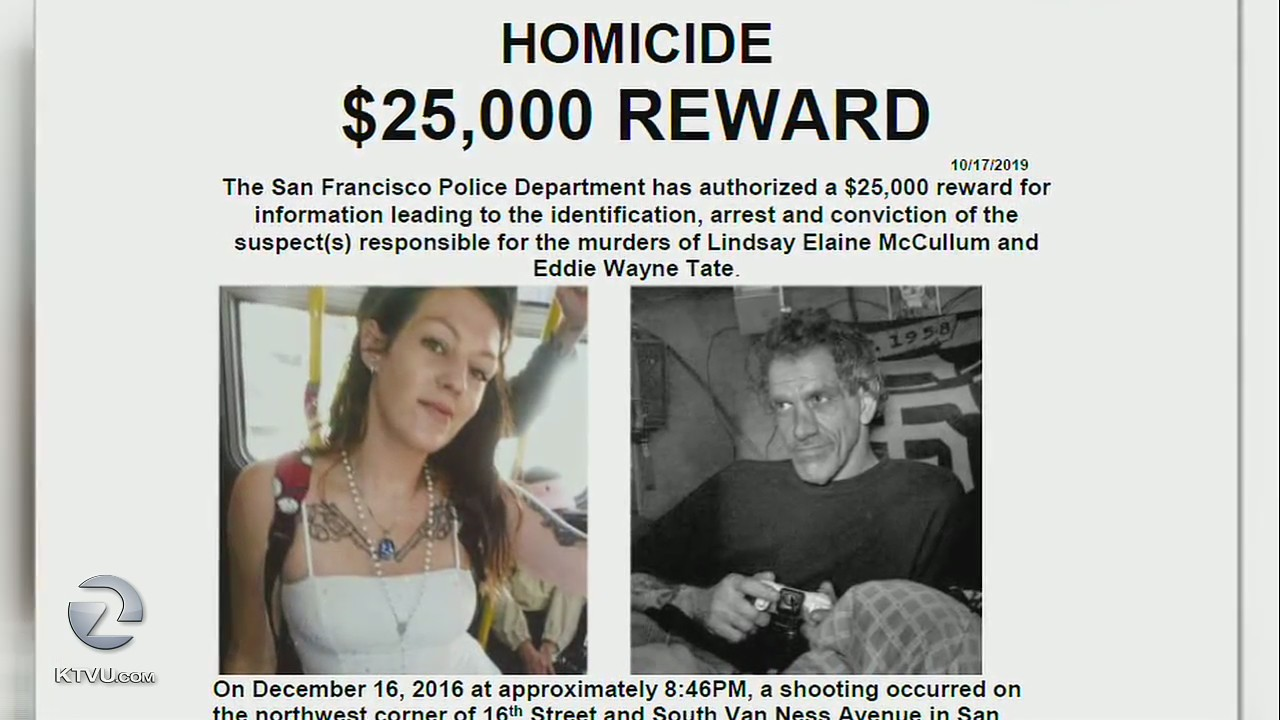 SFPD offer $25K reward in unsolved cold case double homicide