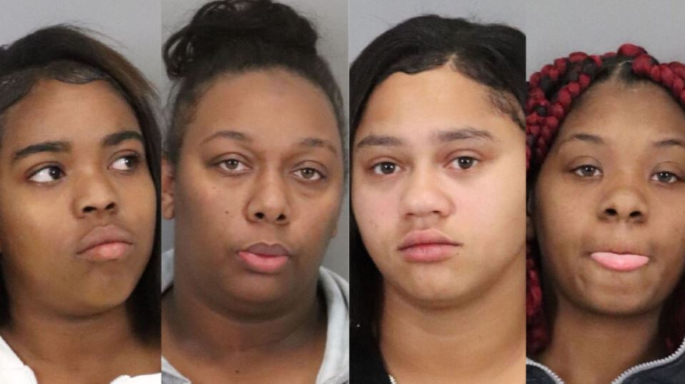 Four arrested in grab and run theft at Stanford Shopping Center