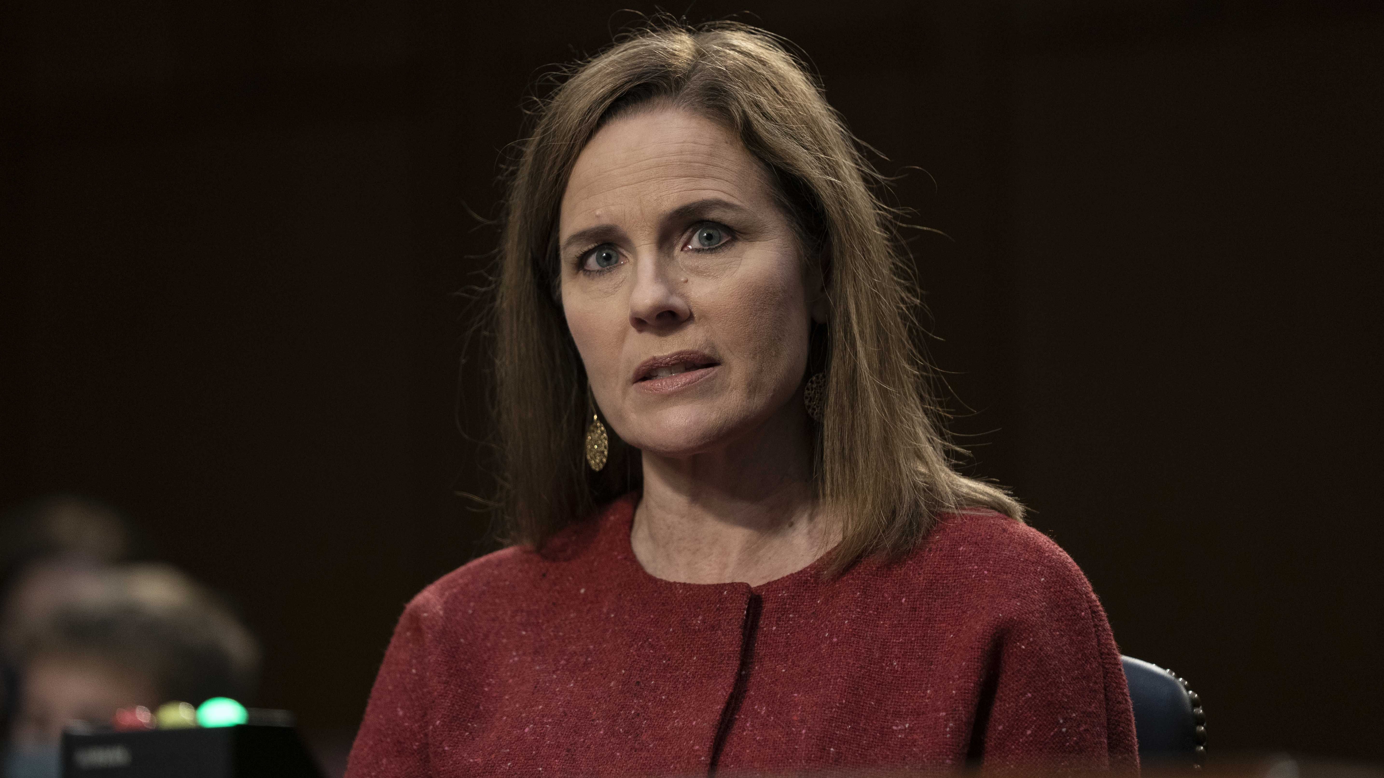 amy coney barrett supreme court nominee vows no personal agenda on 2nd day of hearings 2